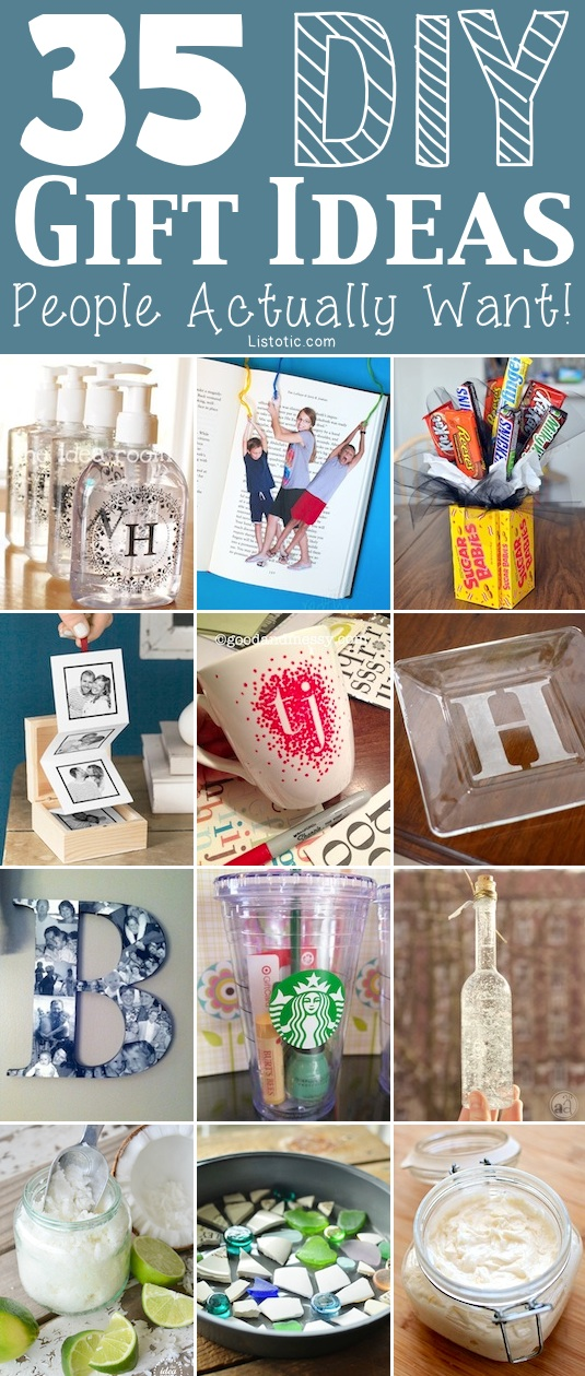 35 Easy Diy Gift Ideas People Actually Want For Christmas More