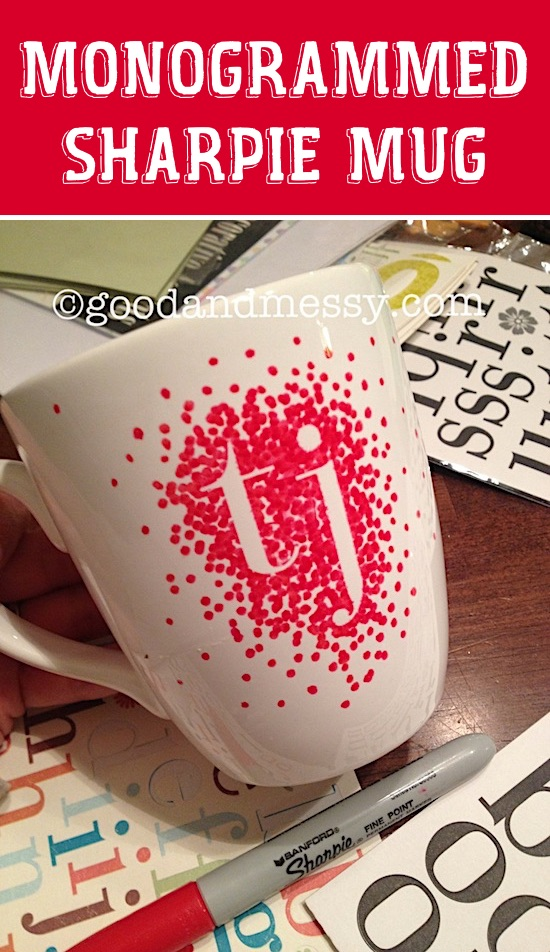 DIY Sharpie Mug -- Easy DIY cheap gift ideas for Christmas, birthdays, boyfriends, girlfriends, family, friends and more! These simple, last minute crafts and projects make for special gifts anyone can do! Creative ideas to sell too! Listotic.com