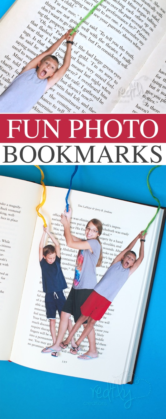 Great DIY Gift Idea For Mom Dad Or Grandparents Homemade Personalized Bookmarks