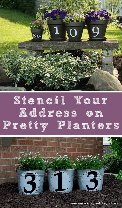 I love these curb appeal ideas and exterior makeovers! Lots of easy DIY projects on a budget for your entryway, landscaping, porch, front yard, garage doors and more! Before and after photos included.   Listotic.com