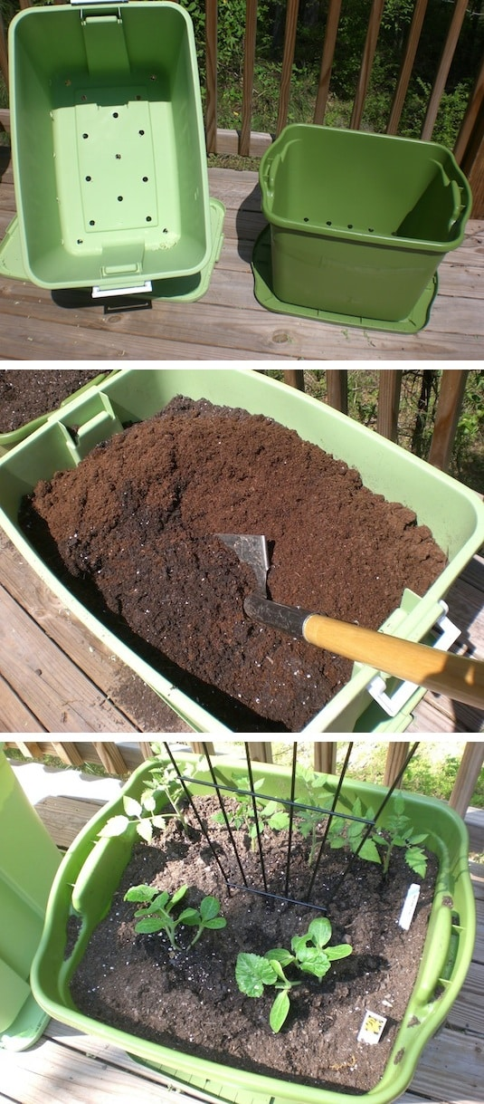 Vegetable Garden Tips And Ideas Part - 41: Garden Idea For A Small Patio Or Apartment -- Easy DIY Gardening Tips And  Ideas