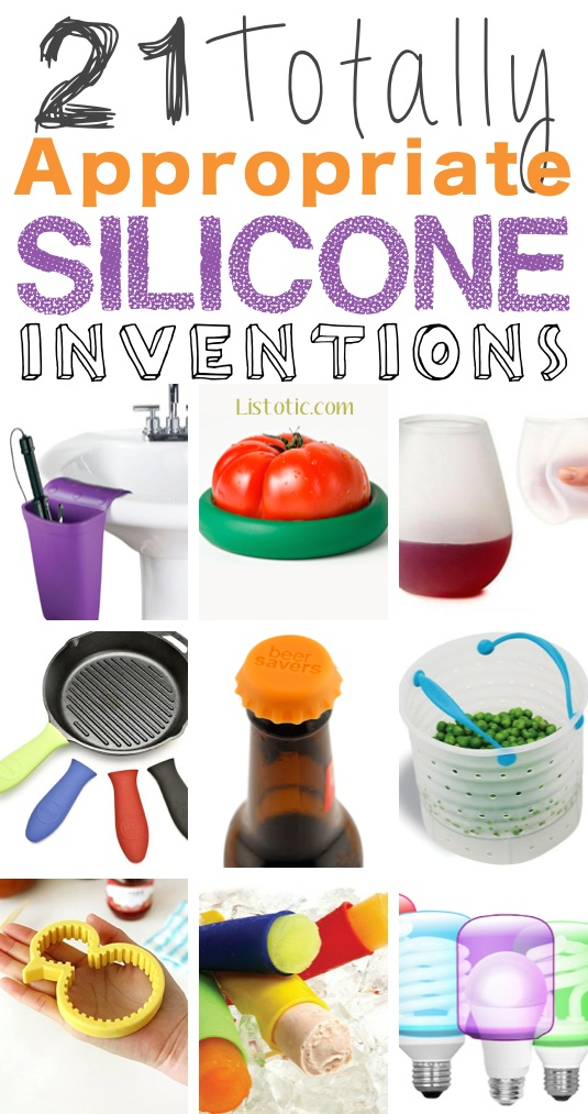 21 Totally Appropriate Silicone Inventions :: Ha! I need to order some of these. | Listotic.com