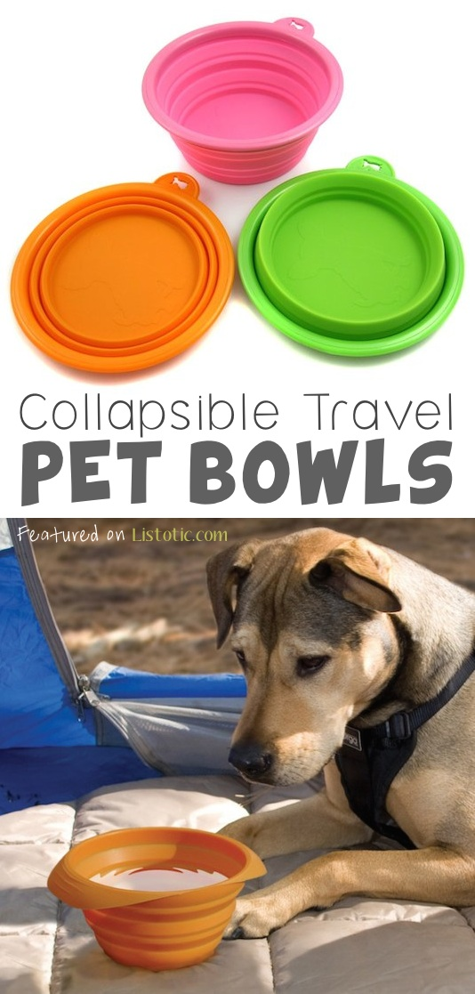 21 Brilliant Silicone Inventions -- Perfect for walks (clips to a leash), or camping!