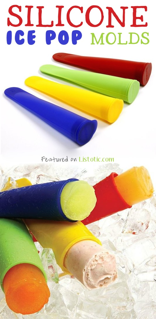 21 GENIUS Silicone Inventions -- Make your own ice pops with juice, milk, or any other liquid!