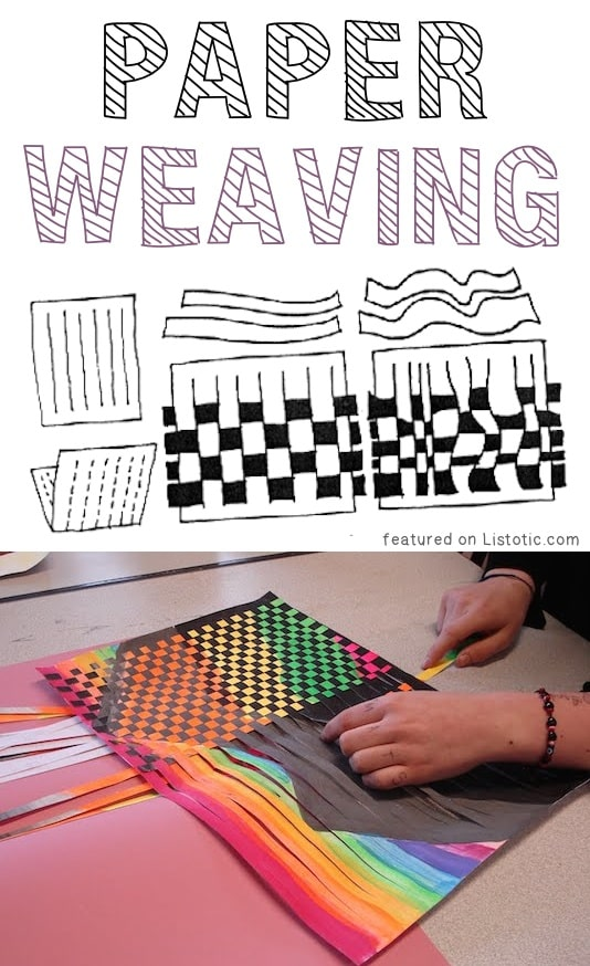 Paper Weaving A Ton Of DIY Super Easy Kids Crafts And Activities For Boys