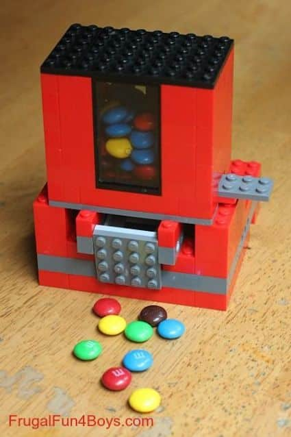 DIY Lego Candy Dispenser -- 29 of the MOST creative crafts and activities for kids!
