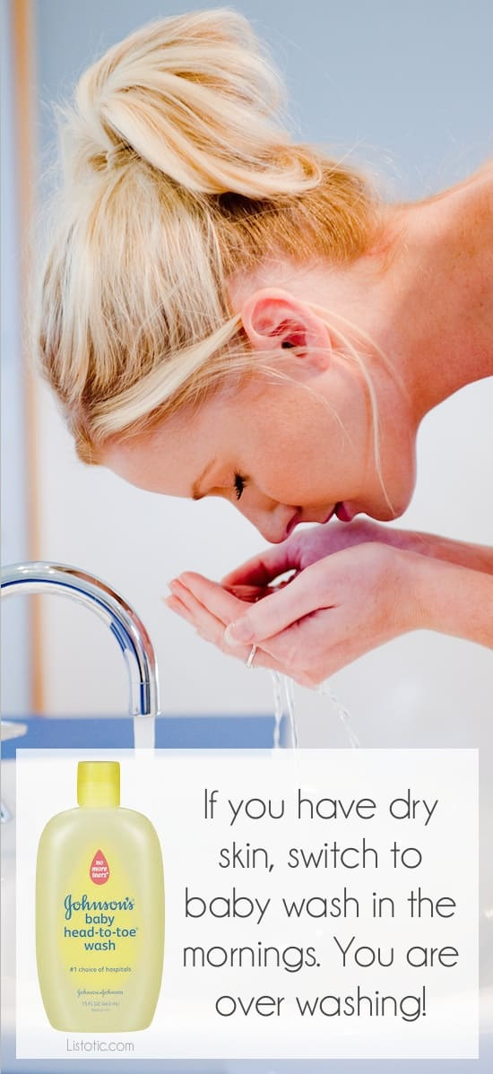 #12. Over-washing your face | 20 Beauty Mistakes You Didn't Know You Were Making