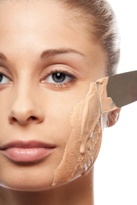 #16. Wearing too much foundation (it ages you!) | 20 Beauty Mistakes You Didn't Know You Were Making