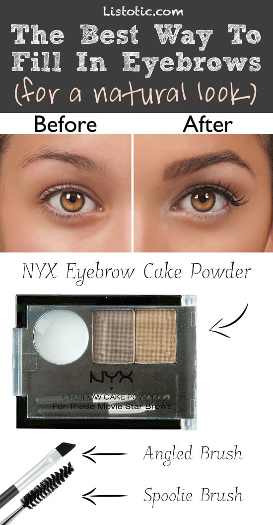 #8. Drawn-On Eyebrows... Here's how to FIX it! | 20 Beauty Mistakes You Didn't Know You Were Making