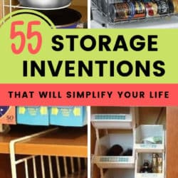 Storage Products and Inventions for small spaces