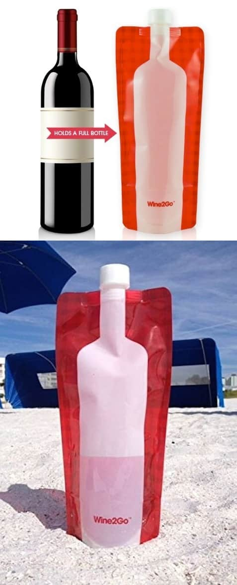 #11. Wine 2 Go (the foldable wine bottle) -- 17 Awesome Products That Will Make This Your Best Summer Ever