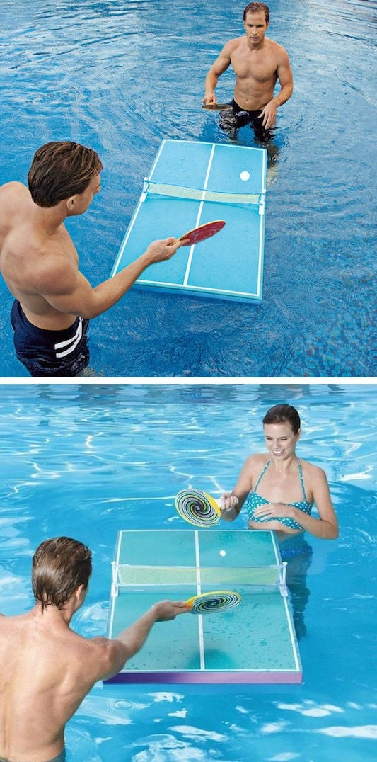 #9. Floating Ping Pong Table -- 17 Awesome Products That Will Make This Your Best Summer Ever