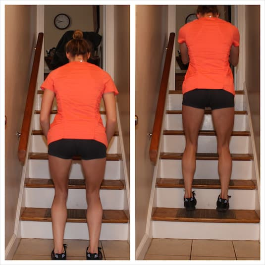 #4. Don't just walk up the stairs! -- 11 Sneaky Ways To Burn More Calories Every Day