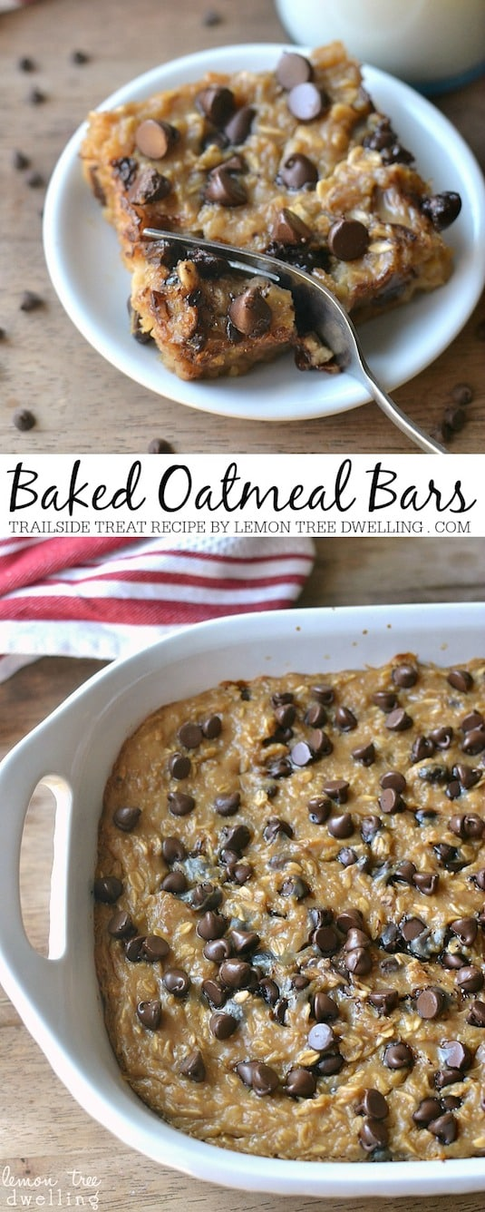 #19. Baked Oatmeal Bars -- 30 Super Fun Breakfast Ideas Worth Waking Up For