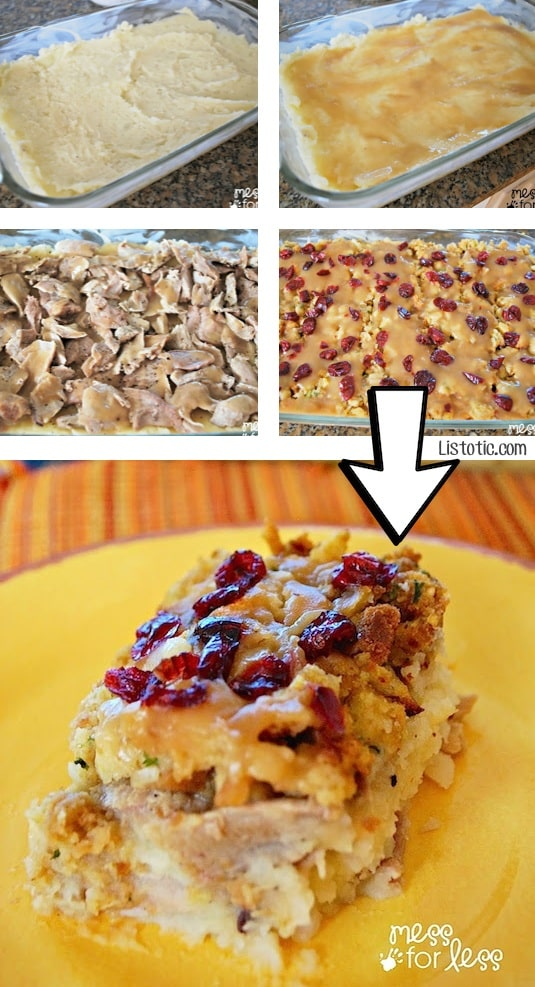 #14. Turn Thanksgiving leftovers into a yummy casserole! | 24 Creative Ways To Use Leftovers