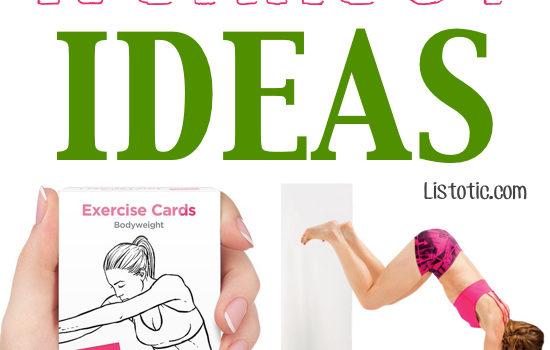 7 Fun & Creative Workout Ideas