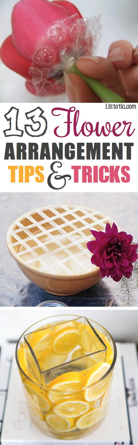 13 Tips On How To Arrange Flowers Like A Pro -- OMG!! Made my grocery store flowers look stunning! | Listotic