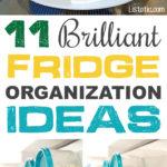 11+ Brilliant Fridge Organization Ideas