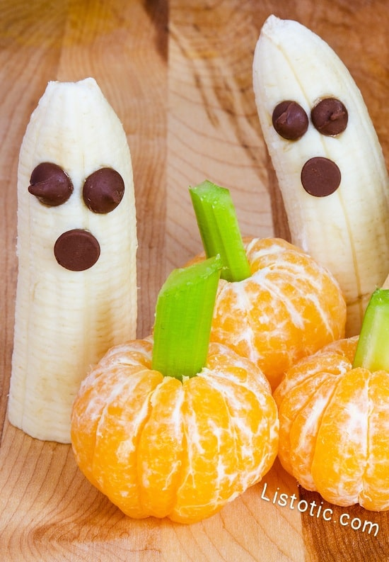 #14. Halloween Fruit Snacks | 15 Super Easy Halloween Treats To Make