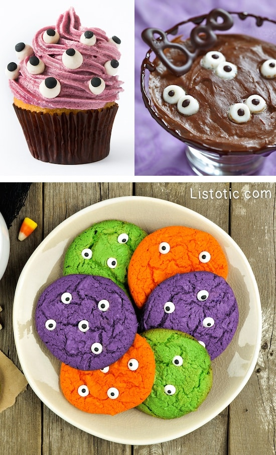 #15. Eyeball Treats | 15 Super Easy Halloween Treats To Make