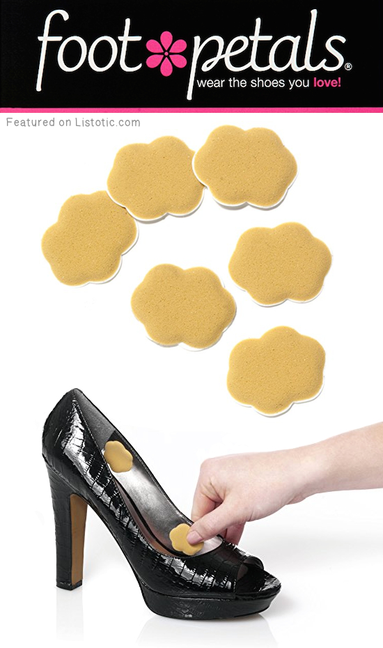#6. Foot Petals | 8 Brilliant Products That Will Make Wearing High Heels Actually Bearable