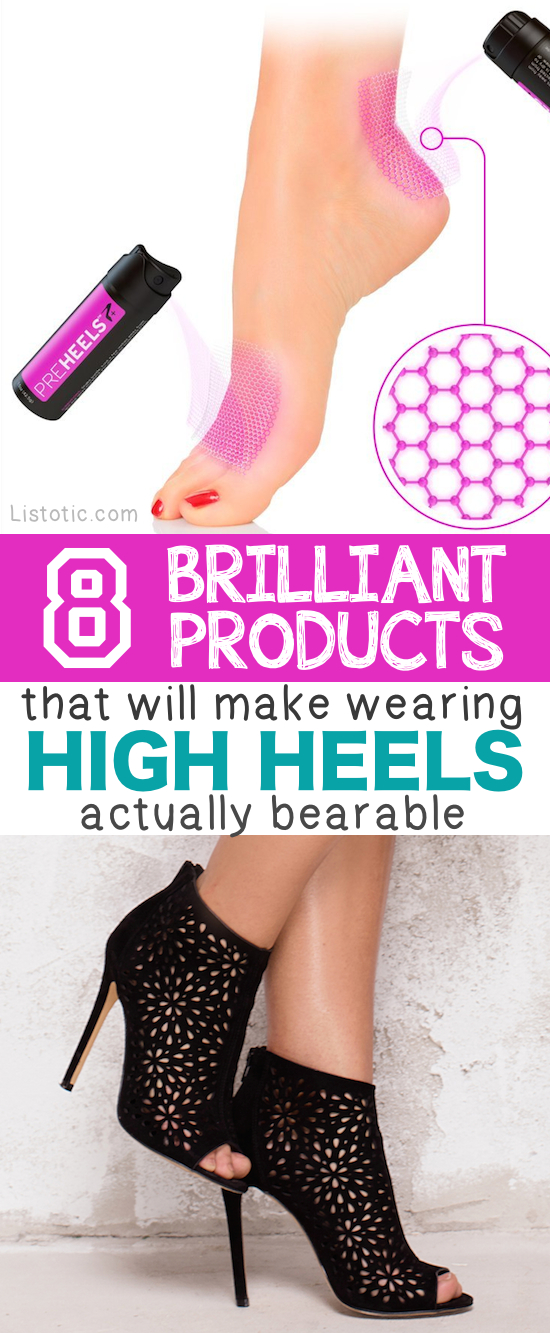 High heel comfort tips! I need all of these. | Listotic