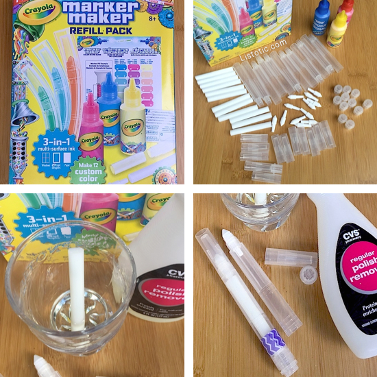 DIY Beauty pens! For nail polish remover, perfume, makeup remover, bleach and more!
