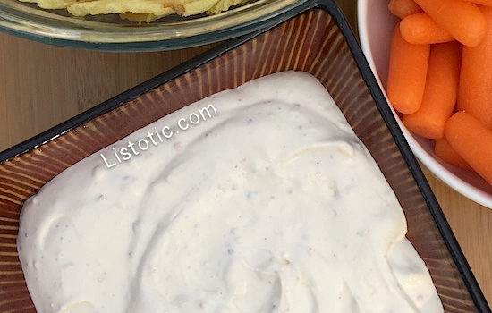 The BEST Easy Dip Recipe