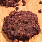 3 Ingredient Healthy Chocolate Cookies