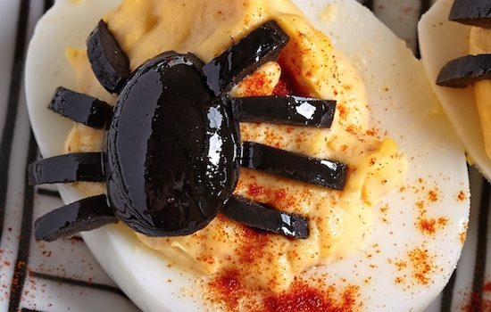 8 Creative Deviled Egg Ideas For Halloween