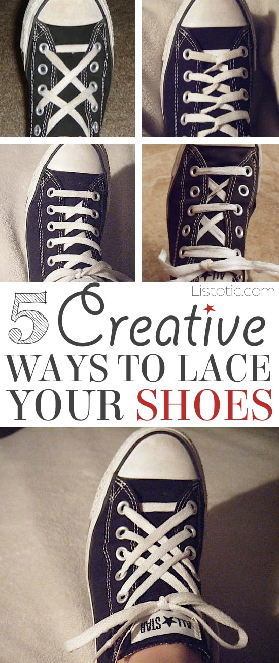 d09e88f37f9b 5 Cool Ways To Tie Your Shoes (easy   fun!)