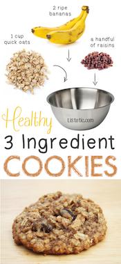 Healthy-3-Ingredient-Cookies