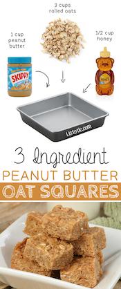 3-Ingredient-Peanut-Butter-Oat-Squares