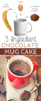 3-Ingredient-Flourless-Chocolate-Mug-Cake