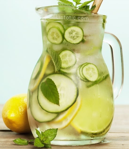 The Ultimate Fat Burning Detox Drink