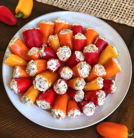 47 Super Simple Recipes Made With Canned Foods: Easy Appetizer Idea: PARTY POPPERS (Make Ahead W/ Only 5