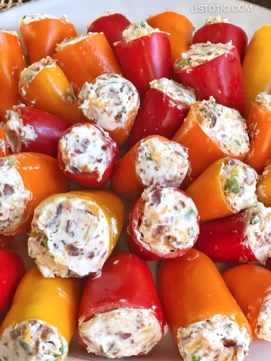 Easy Appetizer Idea: PARTY POPPERS (Make Ahead