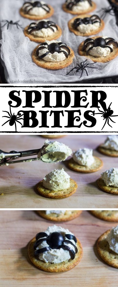 My 10 FAVORITE Halloween Party Appetizers! SPIDER BITES-- easy, creepy and fun! These scary Halloween party appetizers are great for both kids and adults! They're all perfect for a crowd, including finger foods and easy dips. Most of them are quick made ahead recipes, so you can spend more time partying! Lots of creative ideas! | Listotic