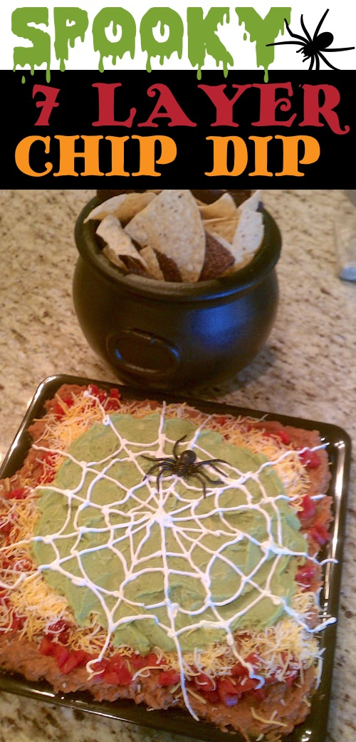 My 10 FAVORITE Halloween Party Appetizers! Spooky 7 Layer Dip Recipe-- easy, creepy and fun! These scary Halloween party appetizers are great for both kids and adults! They're all perfect for a crowd, including finger foods and easy dips. Most of them are quick made ahead recipes, so you can spend more time partying! Lots of creative ideas! | Listotic