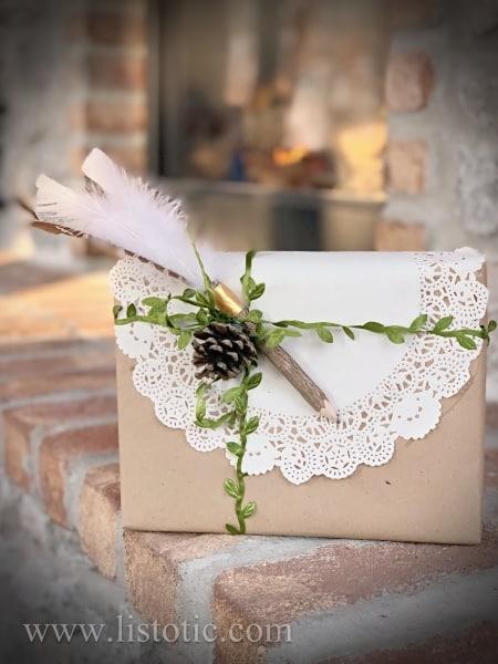 Make your Christmas gift wrap standout.