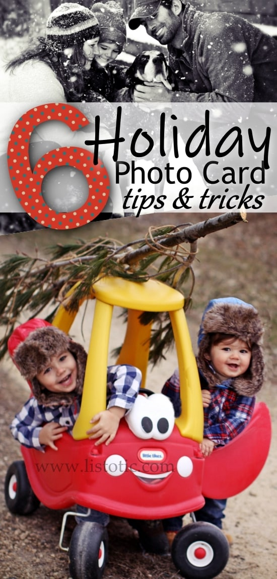 Get your holiday cards out early with these easy tips and tricks!