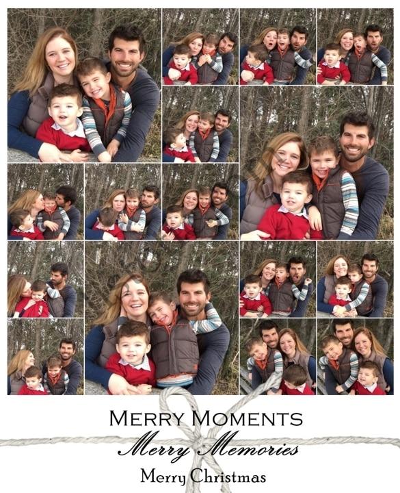 Christmas mug shots! Great for a fun holiday greeting card.