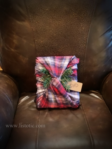 Great gift for Dad! Wrap in a warm scarf.