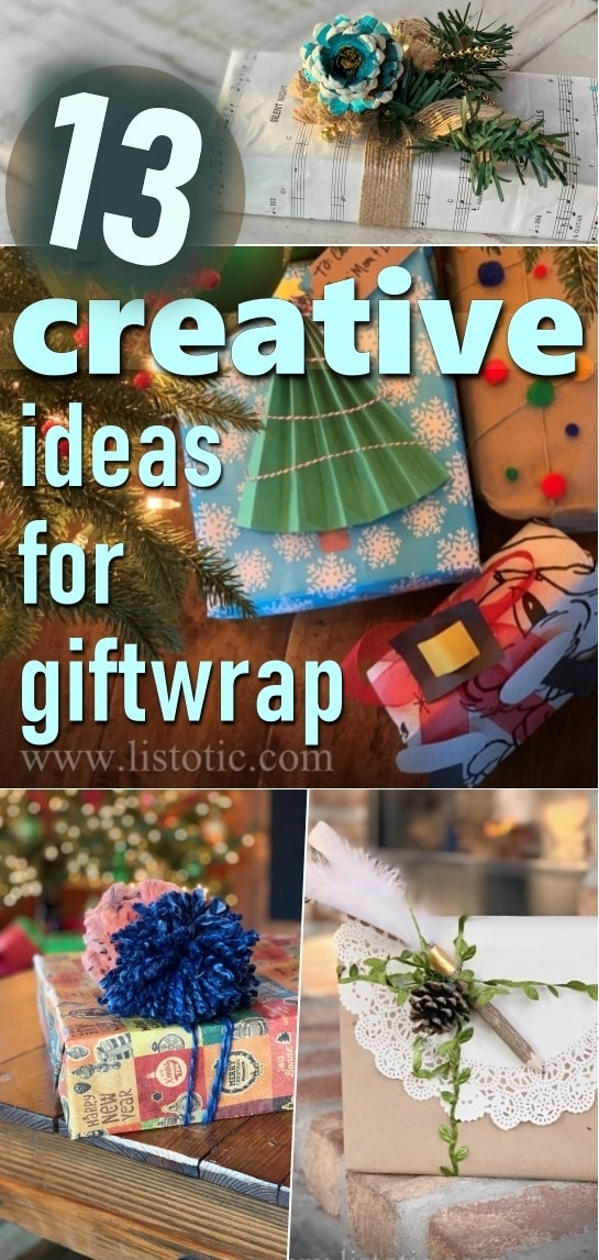 13 Creative Ideas to Gift Wrap
