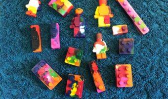DIY Lego Crayons.