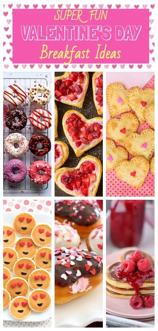 Creative ideas for a very special Valentine's Day! Hearts, pancakes, waffles, pastry, cupid, recipes.