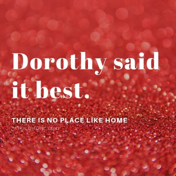 Dorothy form Wizard of Oz said it best: there is no place like home, wearing her Mary Jane red shinny shoes. From stay at home moms to business women juggling it all, the perfect pair of red shoes can take you where you want to go.