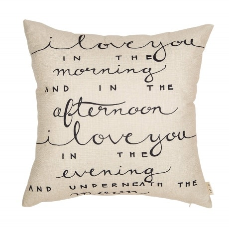 Add pillows that are cute and creative way to decorate for a diy stay at home picnic idea with your valentine.