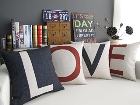 Use lots of pillows for a perfect Stay home date night ideas for couples to have a fun romantic and simple date at home.