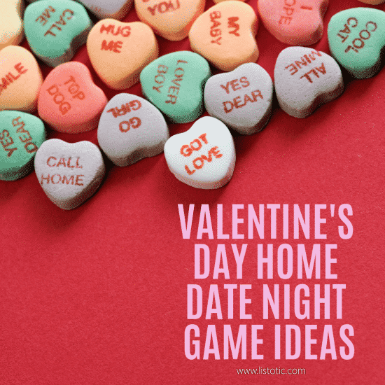 fun things you can do with your spouse at a stay at home date night for valentine's day.